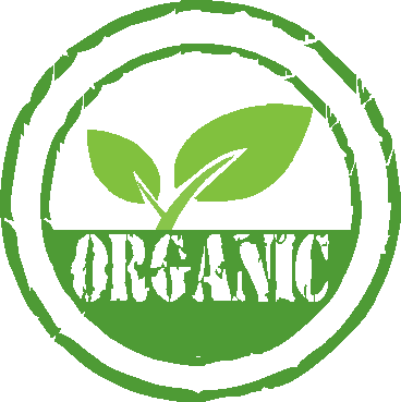 organic food and organic juice